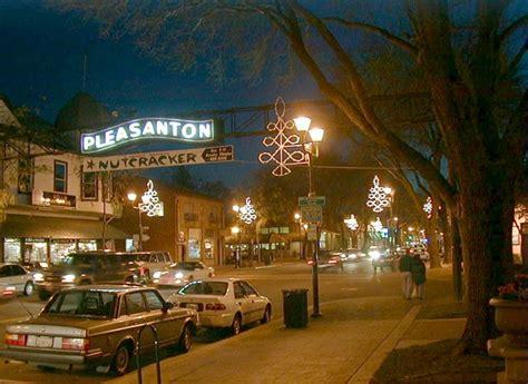 Of Pleasanton by Pleasanton Ca Downtown Pleasanton In December Photo