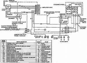 Need Wiring Diagram For 1989 Ford Mustang Cruise Control