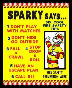 Make a Fire Safety Tips Poster | Fire Safety Poster Ideas ...