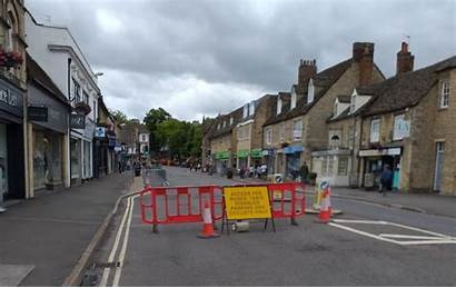 Witney Barriers Distancing Councils Boost Together Social