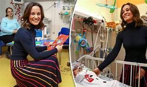 Pippa Middleton displays maternal side on visit to ...