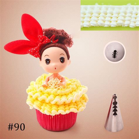 lot de  douilles decoration gateau patisserie robe