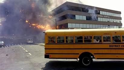 Bus Wallpapers Dark Knight Explosions Batman Hospital