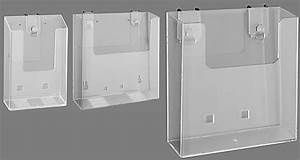 wall mount brochure holder for counselling area pharma With wall mount document display holder