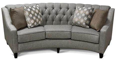 Rounded Sofa Fresh Bargains On Aretha Contemporary Grey