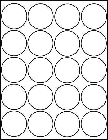 printableinchcircletemplate printable labels