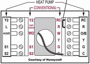 How To Wire A Honeywell Thermostat 2 Wires