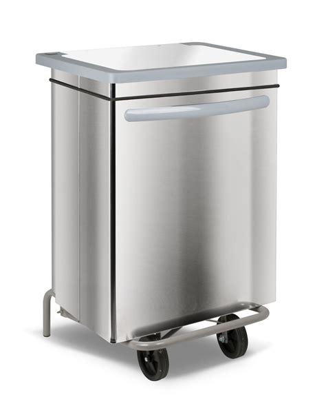 poubelles de cuisine poubelle cuisine inox haccp carénée 70 litres