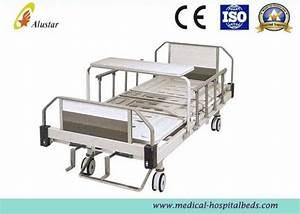 2 Position Hand Operated Medical Hospital Beds Steel Frame