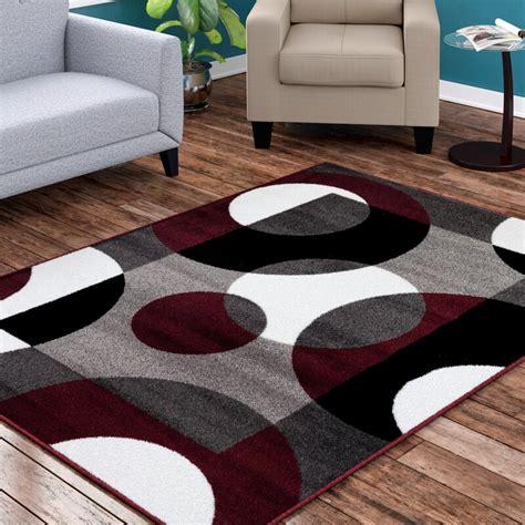 Ebern Designs Allison Burgundy Area Rug Reviews Wayfair