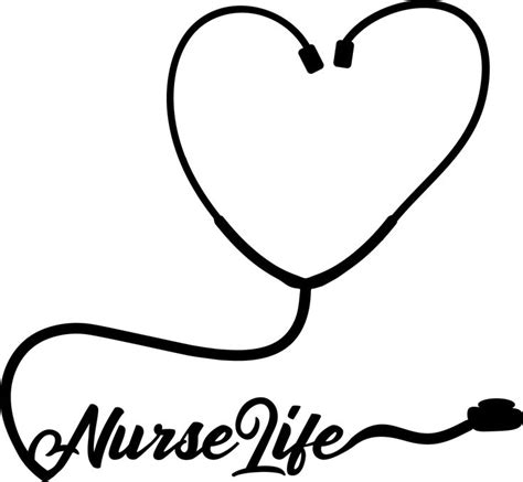 Svg files, especially those exported from various editors, usually contain a lot of redundant and useless information. Nurse Life Stethescope~Free SVG File | Cricut tutorials ...