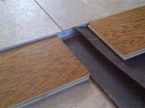 Tile Transition Strip To Hardwood  Tile Design Ideas