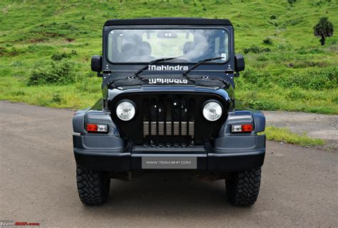 thar jeep 2015 mahindra thar facelift a close look team bhp