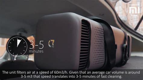 mijia car air purifier review youtube