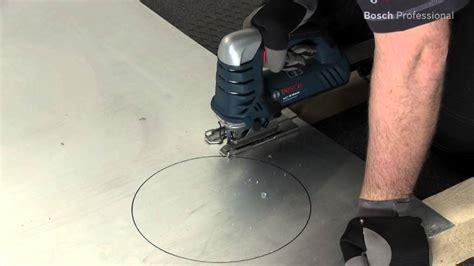 blech schneiden flex bosch gst 25 metal professional jigsaw