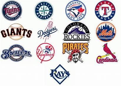 Baseball Mlb Logos Clipart Clip League Major