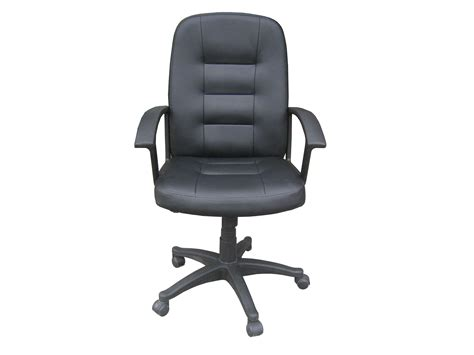 sport leather look office chair