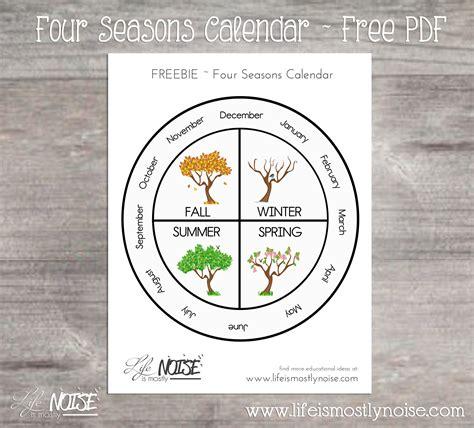 seasons wheel calendar life   noise
