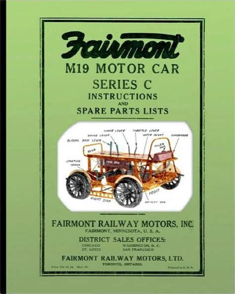 Barnes And Noble Fairmont by Fairmont M19 Motor Car Series C By Fairmont Railway Motors