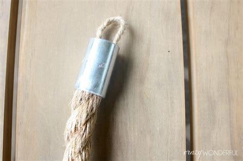 Diy Rope Tiebacks · How To Make A Set Of Curtain Tie Backs