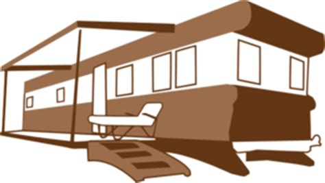 mobile home clip art  clkercom vector clip art