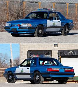 This 1989 Ford Mustang SSP Royal Canadian Police Car Could be Yours – TechEBlog