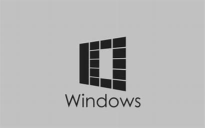 Windows Grey 1080p Abstract Desktop Workstation Wallpapers