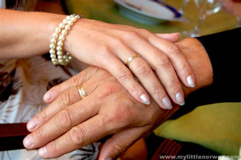 Find out which hand you should wear your engagement ring and wedding ring on, plus the meaning behind the ring finger. Ring Fingers - My Little Norway