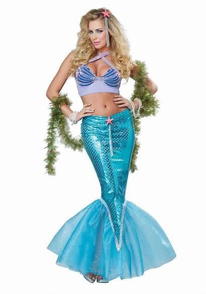 Mermaid Costume Deluxe Iridescent Womens Costume1 Everybody