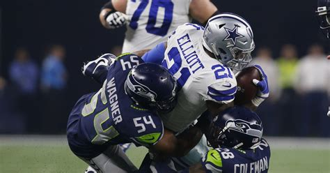 cowboys  seahawks wild card  playoff game