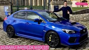 Essai Subaru Impreza Wrx Sti Legend