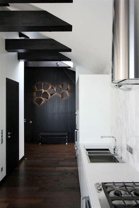 cuisine moderne noir et blanc cuisine moderne noir et blanc maison moderne