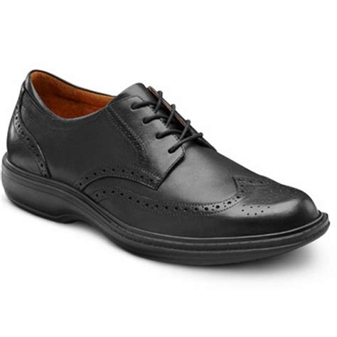 mens comfort shoes dr comfort wing s therapeutic diabetic dress shoe ebay