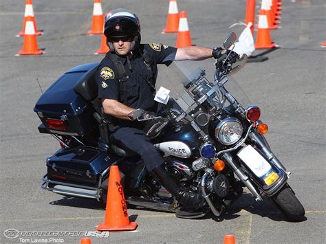 California Motorcycle Police Officer Skills Competition In