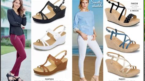 Catalogo Megashoes 2017 Zapatos Damas Primavera Verano