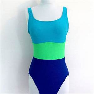 Vintage Tank Swimsuit Maillot Bathing from ThisBlueBird