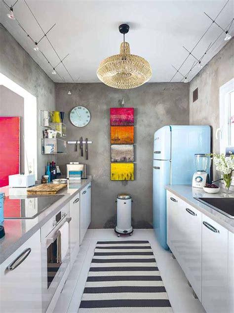 vintage galley kitchen modern retro galley kitchen la casa perfecta 3196