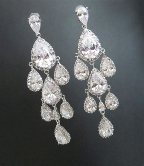 wedding earrings bridal earrings