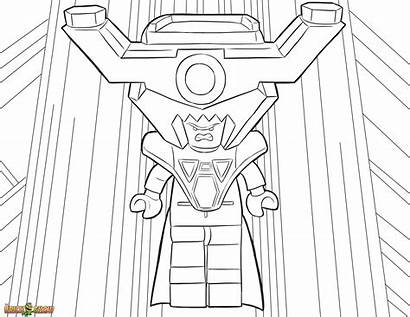 Lego Coloring Pages Printable Lord Fiesta Business
