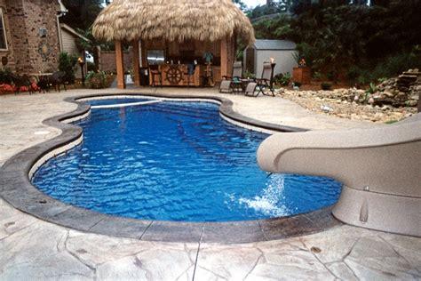 Luxury Fiberglass Pools  Pools For Home