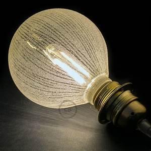 Ampoule Décorative Led : ampoule modulaire d corative led g125 blanche lignes ~ Edinachiropracticcenter.com Idées de Décoration
