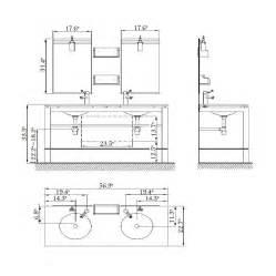 standard bathroom vanity cabinet height
