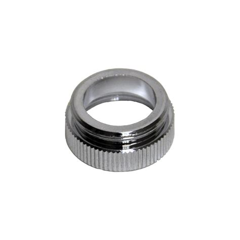 chicago faucet aerator adapter 55 64 in 27m x 13 16 in 24f chrome aerator