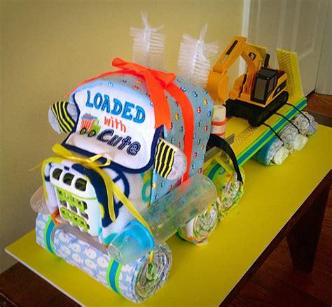 semi truck diaper cake crafts windeltorte windeln torten