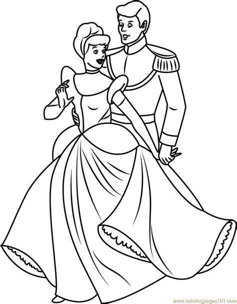 cinderella  prince coloring page  cinderella
