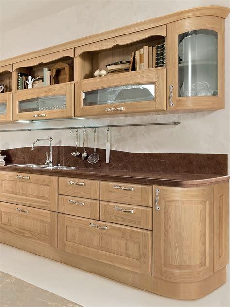 r駭 une cuisine en bois cuisine en bois by cucine lube
