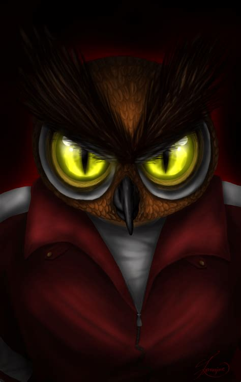 Creepy Owl Wallpapers by Vanossgaming Wallpapers Wallpaper Cave