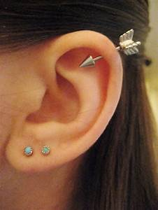 25 Awesome Helix Piercing Jewelry Inspirations | Helix ...