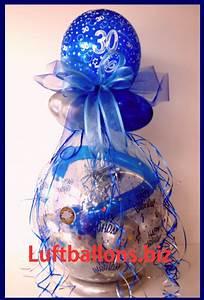 30 Dinge Zum 30 Geburtstag : geschenkballon luftballon zum verpacken von geschenken zum 30 geburtstag lu geschenkverpackung ~ Bigdaddyawards.com Haus und Dekorationen