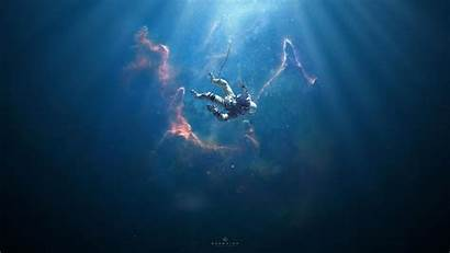 Astronaut Floating Space Wallpapers